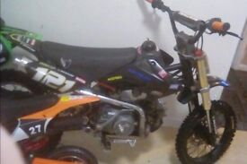 Demon x 125 pitbike