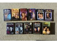 BUFFY THE VAMPIRE SLAYER, UNSEEN & ANGEL Paperbacks - MINT