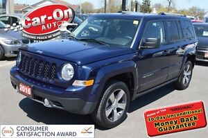 2016 Jeep Patriot HIGH ALTITUDE 4X4 LEATHER SUNROOF
