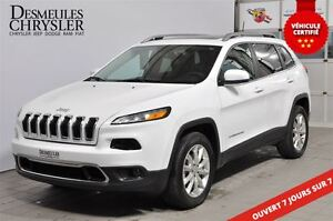 2016 Jeep Cherokee LIMITED*NAVIGATION**TOIT PANO