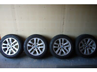 BMW 3 series Winter Tyres with Wheels