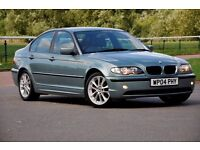 2004 BMW 3 Series 1.8 316i ES 4dr+JUST SERVICED+LOW MILEAGE+SALOON+12 MONTHS MOT+READY TO DRIVE AWAY