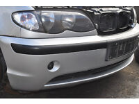 BMW 3 SERIES FRONT BUMPER 2002