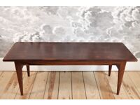 Vintage Retro 60's Danish Rosewood Coffee Table number 46 by Niels Otto Møller