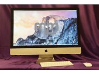 """3.06Ghz CORE 2 DUO 27"""" APPLE iMac 8GB 1TB HD MS OFFICE 2016 VECTORWORKS CAPTURE ONE FINAL CUT PRO"""