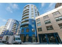 A two bedroom, two bathroom apartment on the 4th floor of Finsbury Court, N7