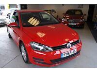 Volkswagen Golf S Tsi Bluemotion Technology 3dr (red) 2013