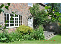 Short term let, 1 to 6 months including all costs. Nicely furnished cottage Price is per week.