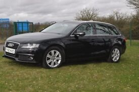 Audi A4 Avant SE Tdi Auto Estate, black.