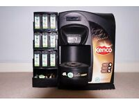 Kenco Coffee machine Free standing or can be plumbed in.