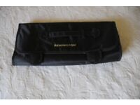 Remington Black Heat Resistant Safety Mat & Storage Pouches For Electrical Heated Hair Styling Tools