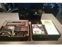 Xbox One boxed with Kinect wireless controller fifa 18 and headset