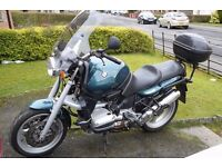 bmw r850r just moted , great condition