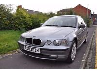 BMW 3 SERIES 1.8 316 SE COMPACT 3DR PETROL (FULL SERVICE HISTORY)