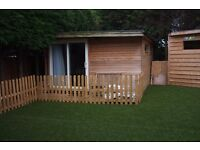 Detached double room with ensuite