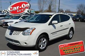 2009 Nissan Rogue SL PEARL WHITE | LOADED