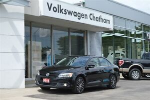 2014 Volkswagen Jetta Highline Heated Leather Sunroof Touch Scre