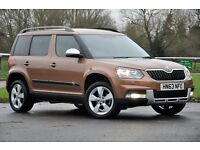2014 Skoda Yeti Outdoor 1.2 TSI SE Station Wagon DSG 5dr+AUTOMATIC+12 MONTHS MOT+ONLY 3.315 MILES