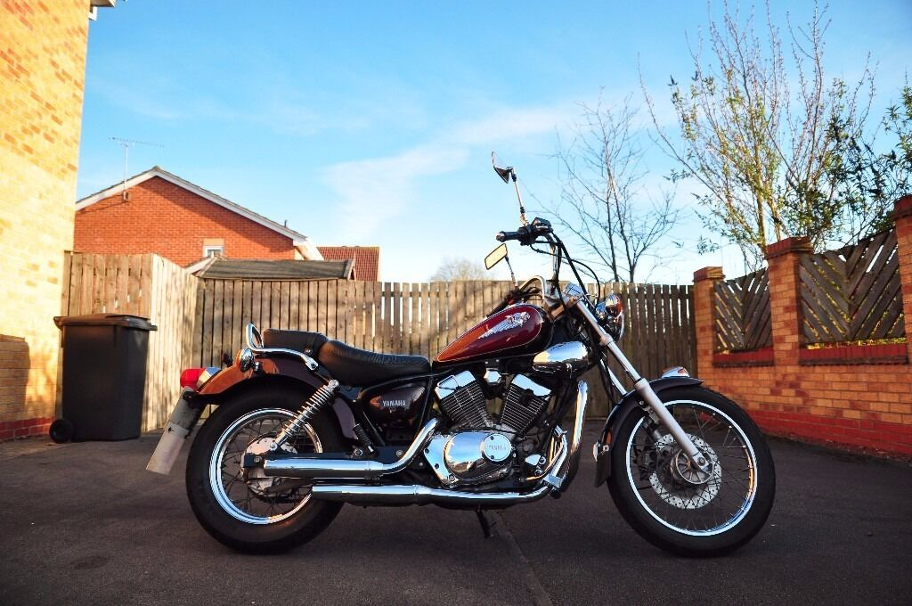 yamaha virago xv 125 2003 in york north yorkshire gumtree. Black Bedroom Furniture Sets. Home Design Ideas