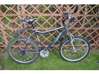"Mens Raleigh Hercules Nitro Mountain Bike - 18 speed - 21"" (53cm frame)"