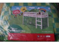 Football Tent for Shorty Midsleeper Bed - Boys Bedroom Green - New