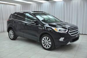 2017 Ford Escape TITANIUM 4x4 ECOBOOST SUV w/ BLUETOOTH, NAVIGAT