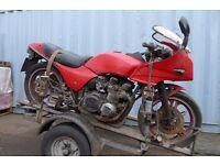 Kawasaki Gpz750 A1 Barn find Restoration project parts repair Kawasaki ZX750 A1