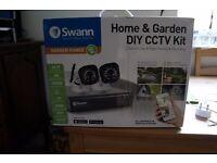 SWANN CCTV complet set up