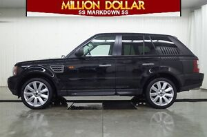 2008 Land Rover Range Rover Sport Supercharged AWD