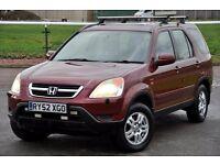 2003 Honda CR-V 2.0 i-VTEC SE Sport Station Wagon+FREE WARRANTY+JUST SERVICED+2 KEYS+12 MONTHS MOT