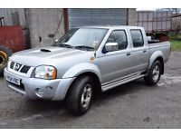 Nissan Navara pick up truck - rattle on engine so ideal for parts