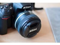 Nikon 50mm Lense F1.8 G AFS (Perfect Portrait Lense produces great bokeh)