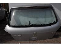 PEUGEOT 307 REAR HATCH WITH WINDOW WIPER MOTOR