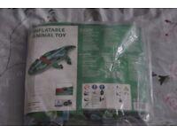 Inflatable Crocodile Brand New