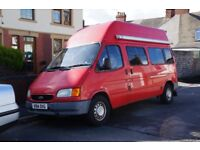 2-Berth Ford Transit Motor Home 150 LWB/ High Top Year of Manufacture – 1999 Fuel