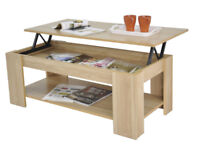 Coffee table - lift up top