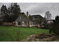 Detached 4 bed chalet bungalow - 2000 sq ft of accommodation with views over the Exe estuary