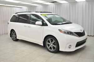 2016 Toyota Sienna SE 8PASS MINIVAN w/ BLUETOOTH, HEATED LEATHER