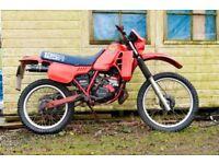 Classic Honda MTX 125 2 Stroke