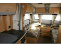 2008 Sterling Elite Explorer,Twin Axle,Fixed Island Bed,Silver Side