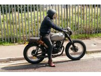 Mutt Mongrel style custom brat cafe racer 125cc build (legal to ride on L plates)
