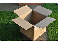 PROFESSIONAL movers large packing boxes, sturdy with handles for oversized items