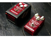 Mad Professor Mighty Red Distortion guitar pedal, new, used once, high end pedal