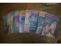 "Selection of ""Photoplay"" film magazines."