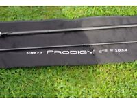 GREYS PRODIGY GT5 CARP FISHING Rod 40mm Butt Ring 3LB TEST CURVE USED ONCE