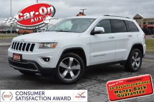 2014 Jeep Grand Cherokee Limited 4X4 LEATHER NAV HTD SEATS REAR