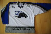 Sea Dogs jersey, autographed