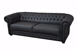 LUXURY AT AFFORDABLE PRICES**CHESTERFIELD SOFAS IN A CHOICE OF CHENILLE FABRIC AND LEATHER