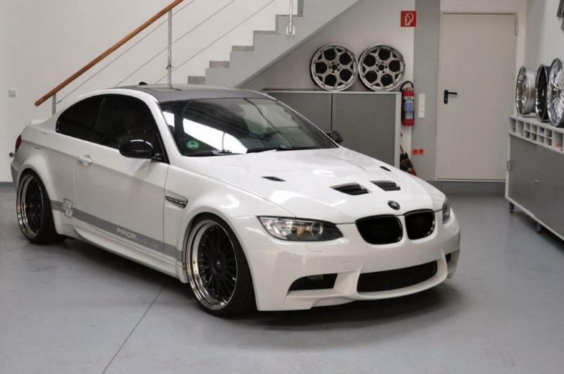 Bmw E92/e93 3-series Coupe Wide Body Kit M3 Conversion For 335i 328i Widebody