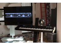 Ensoniq TS-12 weighted workstation keyboard